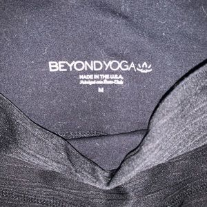 Beyond Yoga high waisted woman's leggings size M